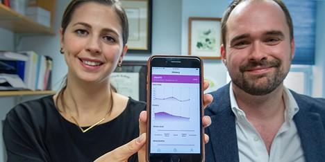 UVM App Calms, Studies Panic Attacks During COVID