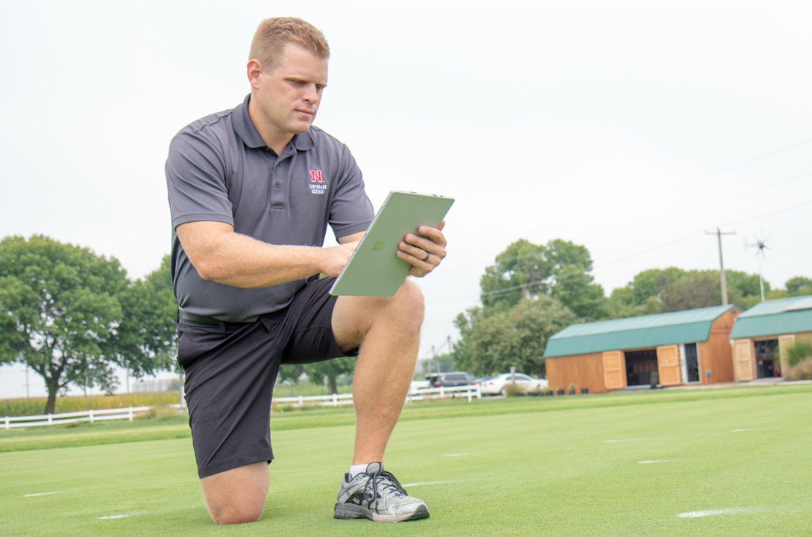 Nebraska Turfgrass Tech Means the Grass is Always Greener