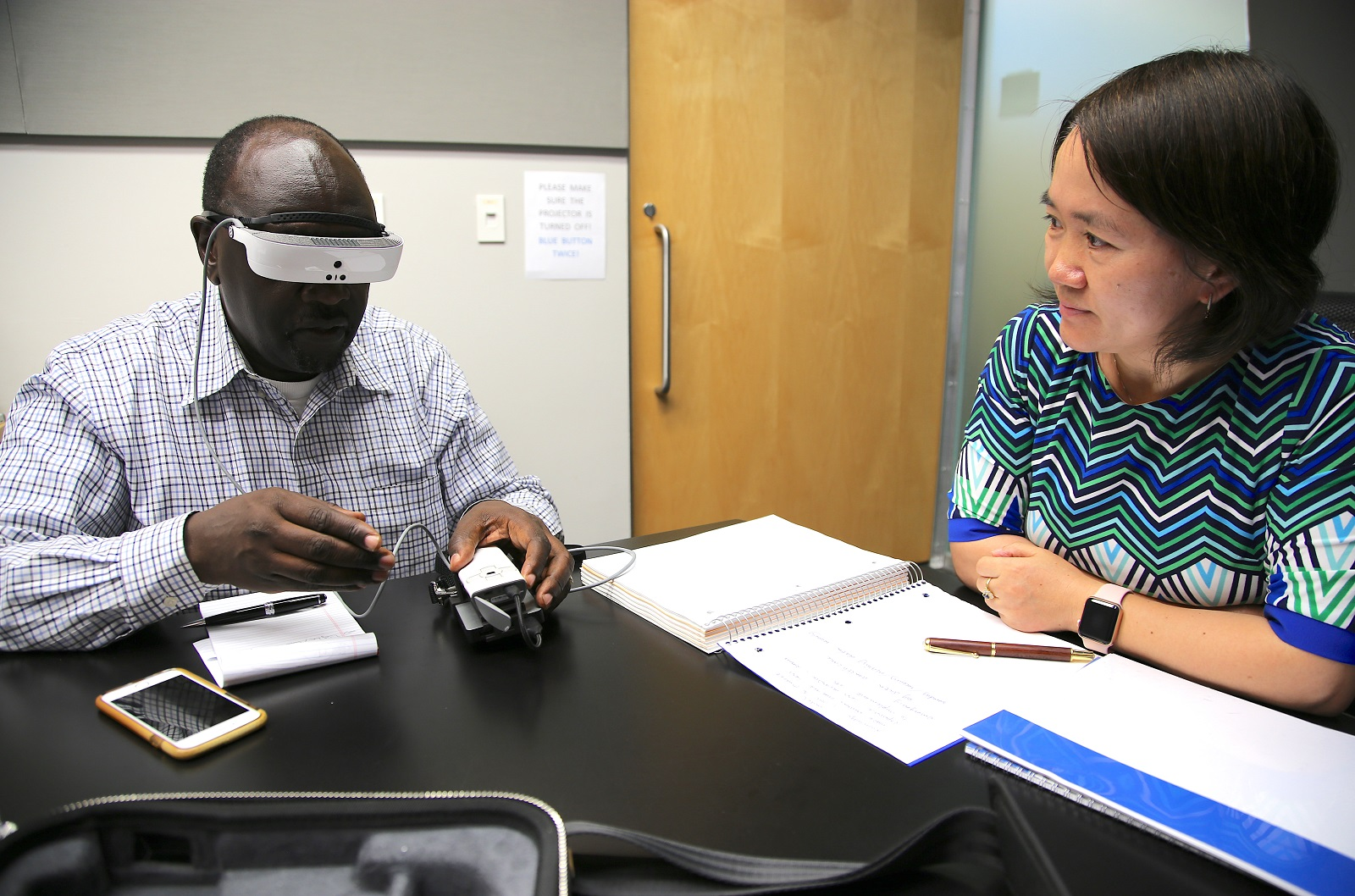 Electronic Glasses Bring Sight to Low Vision and Legally Blind
