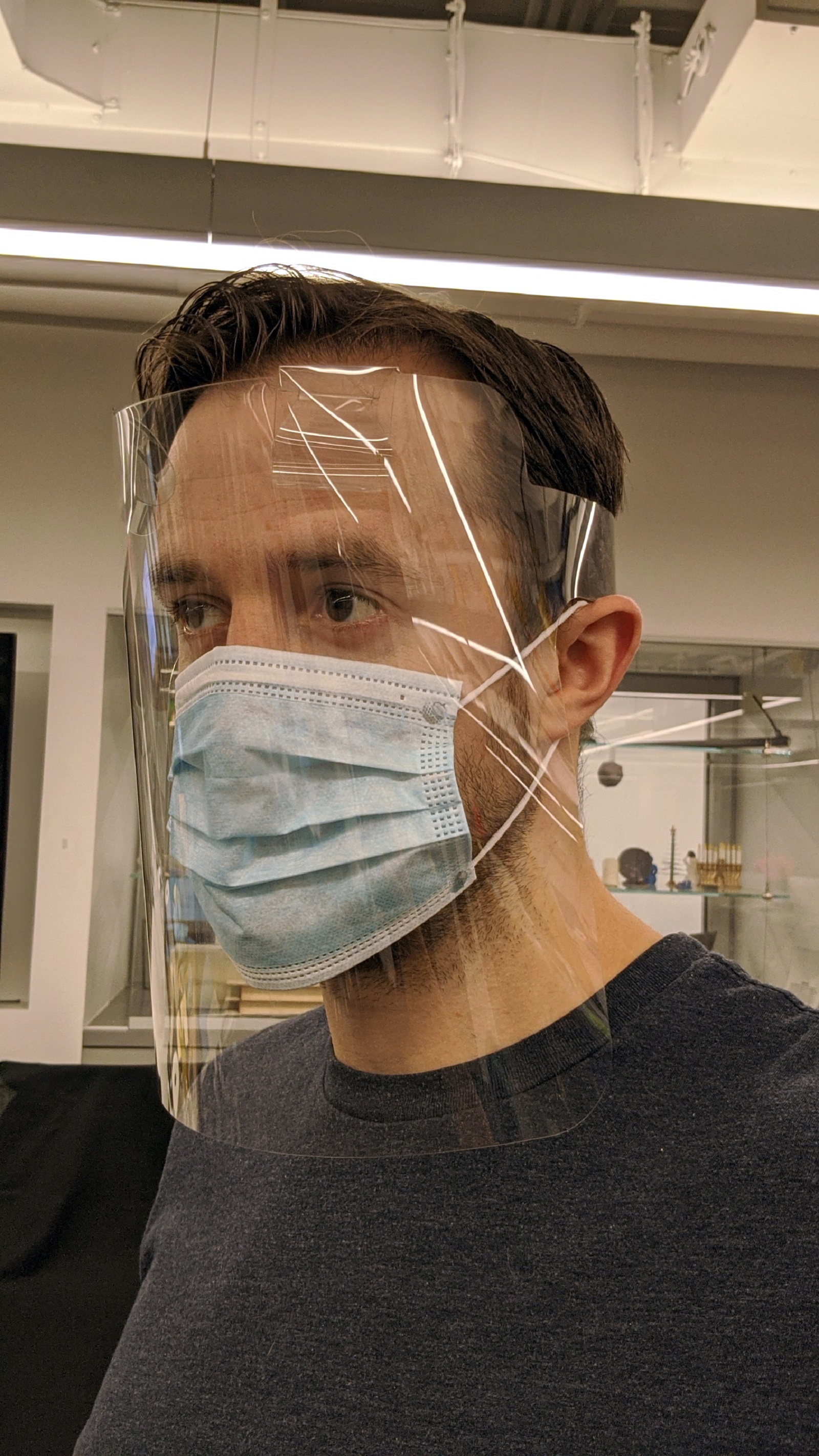 Columbia, Med Center Researchers Team to Produce 1.5M+ Face Shields